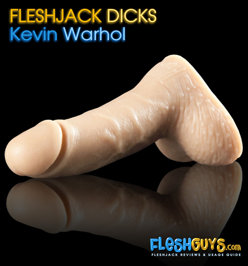 Kevin Warhol Dildo lying flat left side